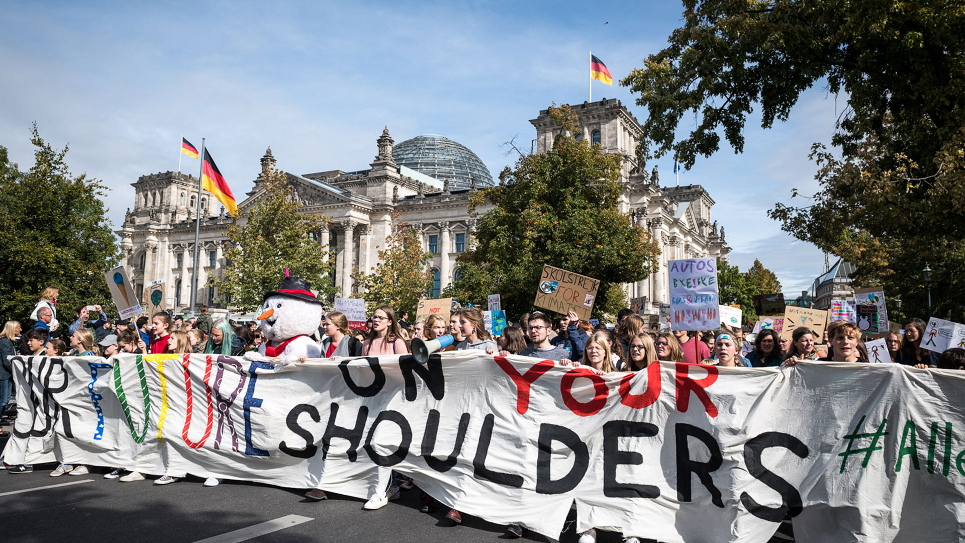 Global Climate Strikes 2019-09 / Deutschland: Berlin. Bild: copy Fridays For Future Germany